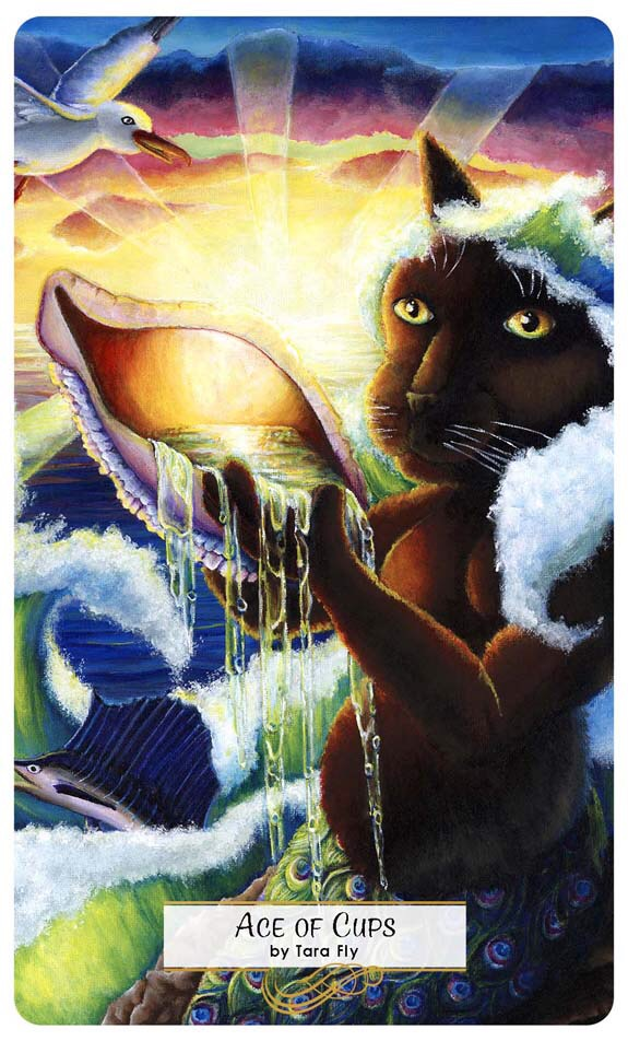 Card of the Day – Ace of Cups – Tuesday, March 27, 2018